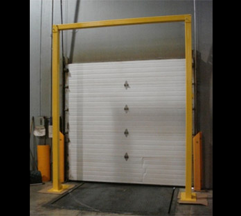 Omega Industrial Products Safety Guardrails Door Guards