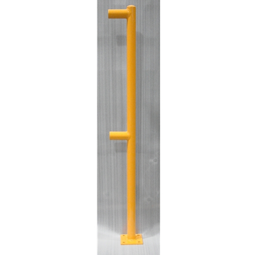 Handrail End Post – OSHA – 2 Horizontals – PIPE 1