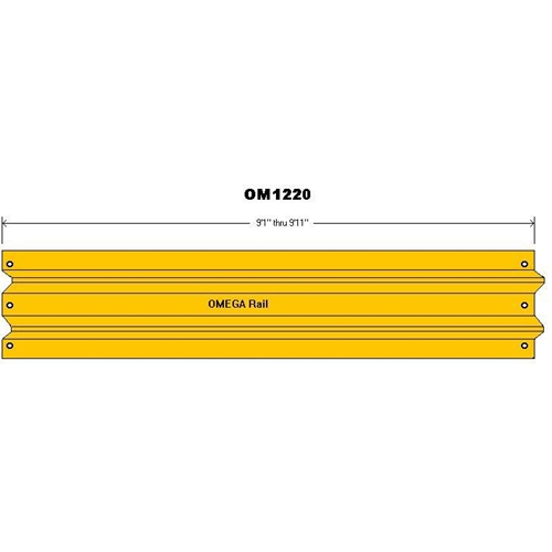 "9'1″-9'11"" Safety Barrier Guard Rail 1"