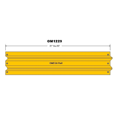 "8'1""- 9'0"" Safety Barrier Guard Rail"