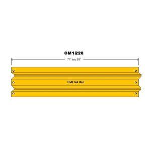 "7'1""-8'0"" Safety Barrier Guard Rail"