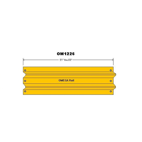 5'1″-6'0″ Safety Barrier Guard Rail 1