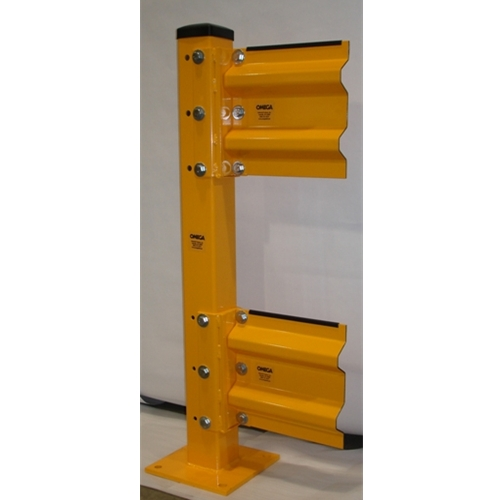 Removable Double Guardrail Lift Out Assembly 1
