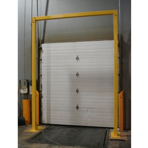 "Overhead Door Guard System - Goal Post Door Guard 96""X 96"""
