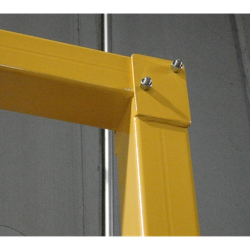 96 Quot X 96 Quot Goal Post Door Guard System Omega Industrial