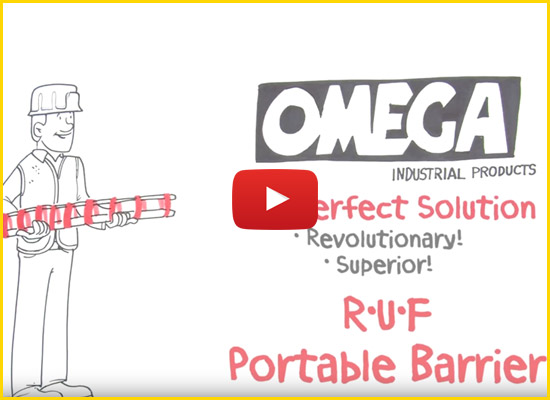 R.U.F Roll Up Fence by Omega Industrial Products