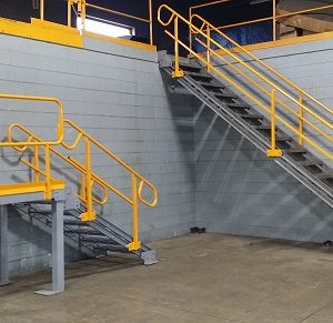Industrial Stairways & Platform Crossover Systems